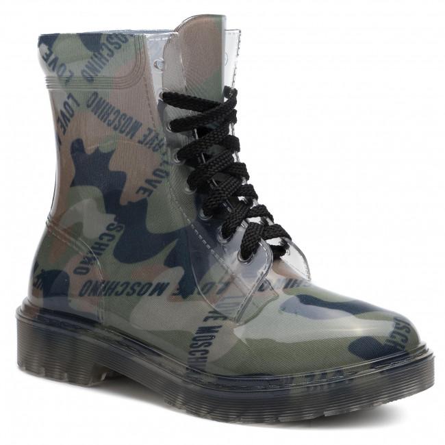 9f9685151f Outdoorová obuv LOVE MOSCHINO - JA24073G18I30852 Milita - Outdoorové ...
