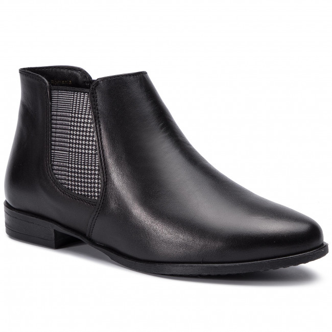 aa98530fd228a Členková obuv TAMARIS - 1-25077-32 Black/Tartan 061 - Kotníková obuv ...