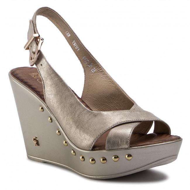 399aca941043 Sandále CARINII - B4922 N F76-000-000-C82 - Na klíne - Šľapky a ...