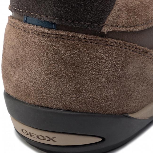 Sneakersy GEOX U Wells A U82T5A 022ME C6005 Chocolate
