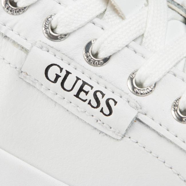 Sneakersy GUESS Larry FM5LAR LEA12 WHITE