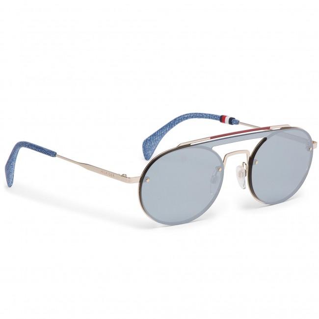 20ecee557 Slnečné okuliare TOMMY HILFIGER - Th Gigi Hadid3 Gold Silver 83I ...