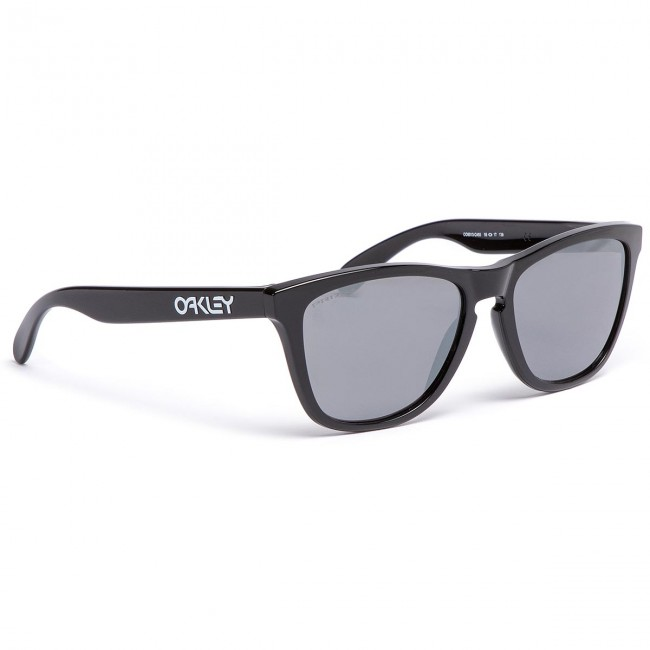 d0f65a15a Slnečné okuliare OAKLEY - Frogskins OO9013-C455 Polished Black/Prizm Black  Iridium