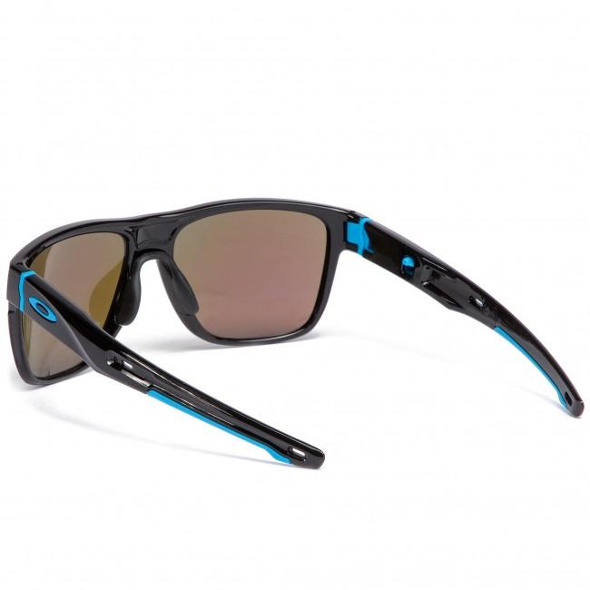 Slnečné okuliare OAKLEY - Crossrange XL OO9360-1358 Polished Black Prizm  Sapphire Iridium 831e1931b0f