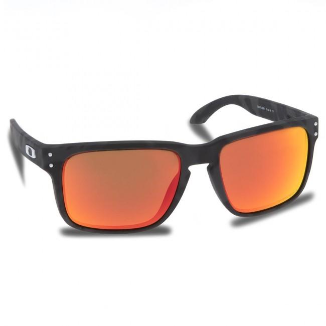 1b840578d Slnečné okuliare OAKLEY - Holbrook OO9102-E955 Black Camo/Prizm Ruby ...