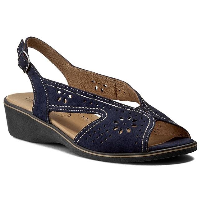d87f454a56a4 Sandále LASOCKI - ENA-02 Tmavo modrá - Sandále na každodenné nosenie ...