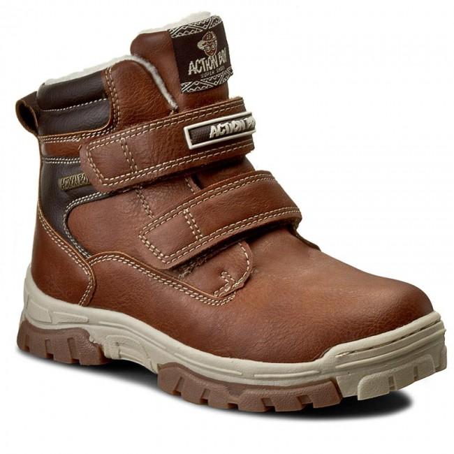Outdoorová obuv ACTION BOY - CP07-16337-01 D Brązowy Jasny - Topánky ... d8309801644