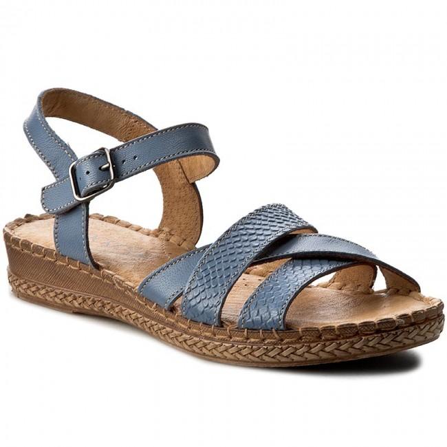 fd275b67259b Sandále LASOCKI - 1880-04 Modrá - Sandále na každodenné nosenie ...