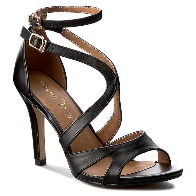 a74e0bab6c08 Sandále JENNY FAIRY - W16SS292-17 Čierna - Elegantné sandále ...