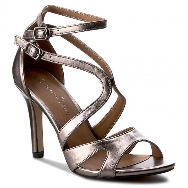 cbb0f7d69e35 Sandále JENNY FAIRY - W16SS292-17 Strieborná - Elegantné sandále ...