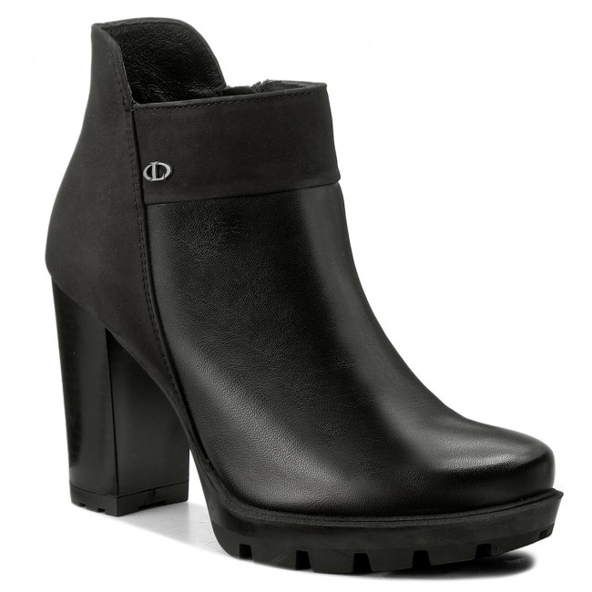 Členková obuv LASOCKI - CARRERA-06 Čierna - Kotníková obuv - Čižmy a ... 530b95f7556
