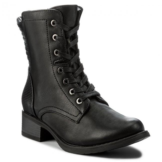 Členková obuv CLARA BARSON - WYL1091A-2 Čierna - Kotníková obuv ... 83f07477ce3