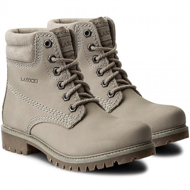 ad730ef7a7f1a Outdoorová obuv LASOCKI - WI20-ASPEN-06 Sivá - Outdoorové topánky - Čižmy a  iné - Dámske - eobuv.sk