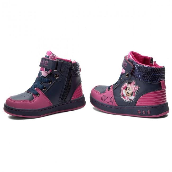 Outdoorová obuv MINNIE MOUSE - CP23-5748DSTC Tmavo modrá - Topánky ... 889cef91a8
