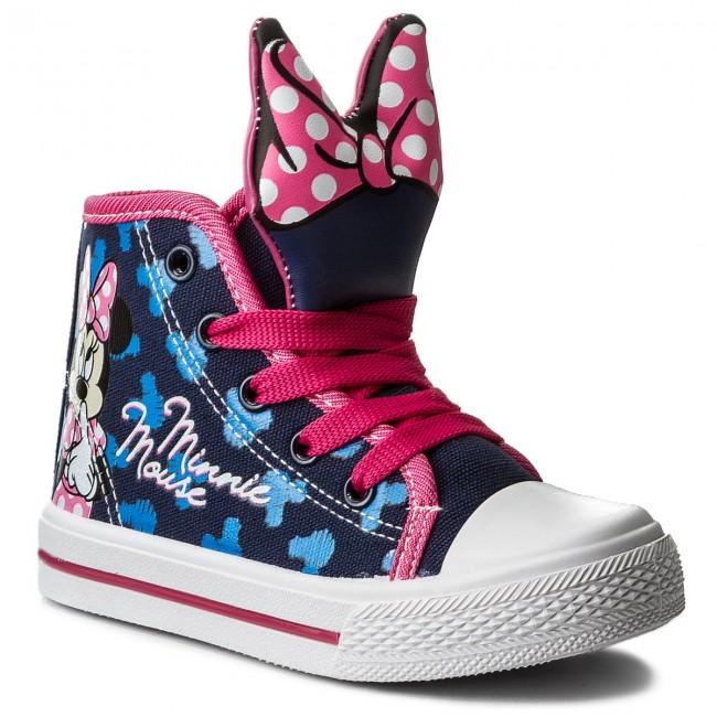 Outdoorová obuv MINNIE MOUSE - CP40-1730DSTC Tmavo modrá - Topánky ... 61d770b8bd