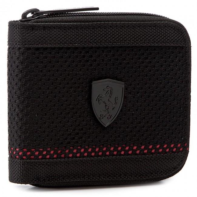 Veľká Peňaženka Pánska PUMA - Ferrari Ls Mesh Wallet M 074615 01 Puma Black abc44bb6ee1