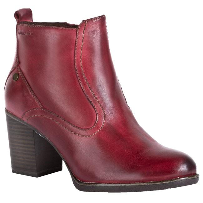 5f1f6a6ff4d1e Členková obuv TAMARIS - 1-25357-29 Červená - Kotníková obuv - Čižmy ...