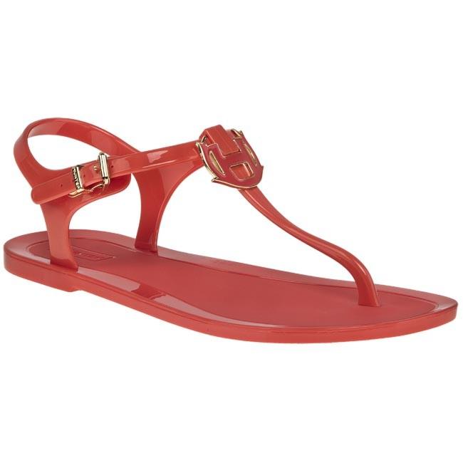 Sandále HUNTER - W25034 Flame - Sandále na každodenné nosenie ... 9e1191af003