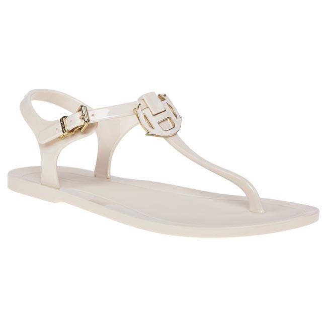 Sandále HUNTER - W25034 White - Sandále na každodenné nosenie ... b74d3bfd38d