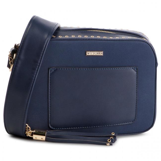 b827135bdc43f Kabelka WITTCHEN - 88-4Y-607-7 Tmavo modrá - Listové kabelky ...