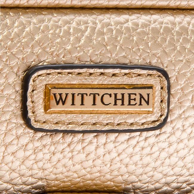 049889deee Kabelka WITTCHEN - 86-4Y-658-G Zlatá - Listové kabelky - Kabelky ...