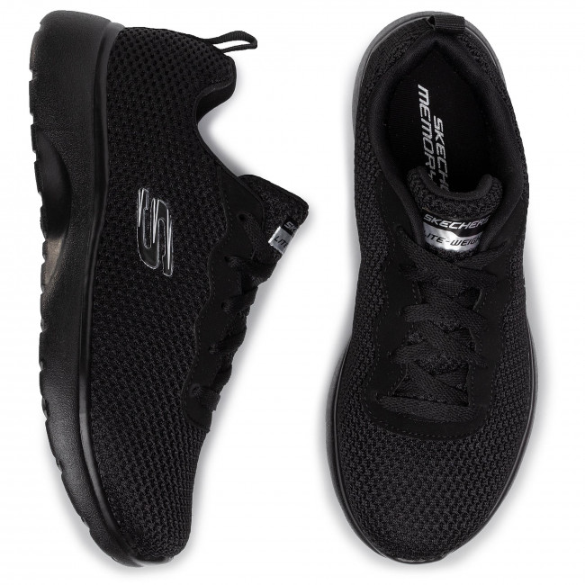 Sneakersy SKECHERS ROSEATE 88888276 BBK Black