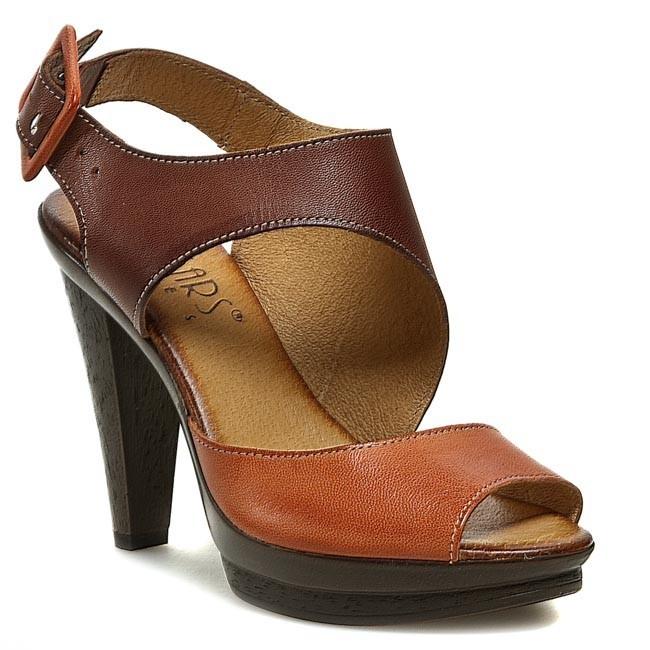 Sandále LAN-KARS - B13-17-25 Oranžová - Sandále na každodenné ... ed7256edd94