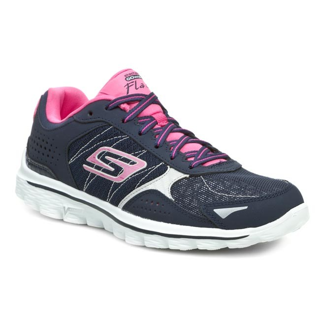 Topánky SKECHERS - Flash 13960 NVHP Navy Hot Pink - Sneakersy ... 39aefa1bc01