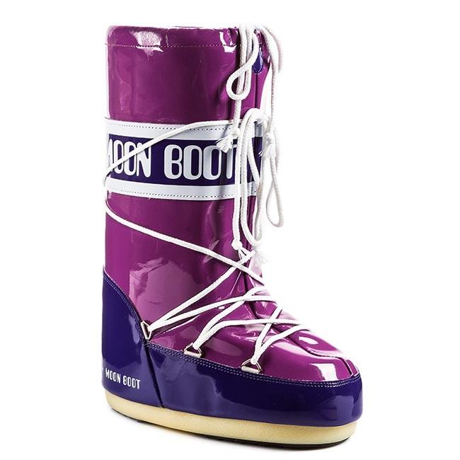 4601688810 Snehule MOON BOOT - Vinil 14009700029 Cyclamen  Purple - Snehule ...