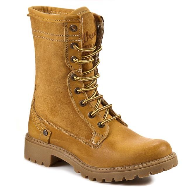 Čižmy WRANGLER - Creek LL WL142503 Camel 71 - Outdoorové topánky ... 6699a1d6b1a