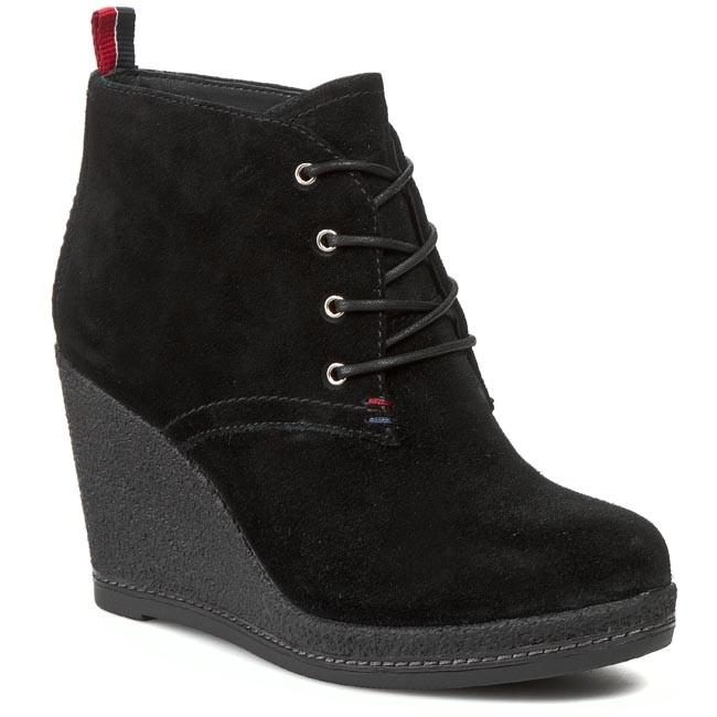 Členková obuv TOMMY HILFIGER - Natalie 7B FW56817649 Black 990 ... 76e8d9173d4