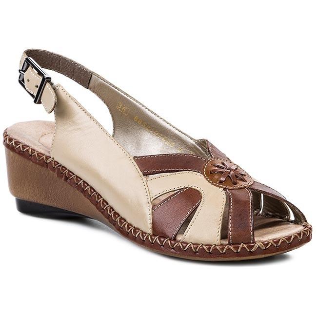 Sandále RIEKER - 66179-25 Brown Combination - Sandále na každodenné ... 295d77ef1d5