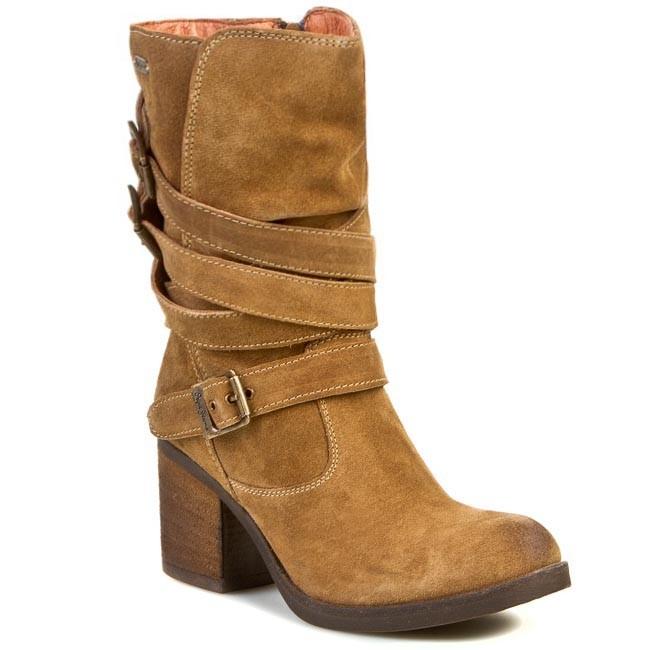 Členková obuv PEPE JEANS - Reno Straps PLS50007 Tan 869 - Kotníková ... 86eea80a83e