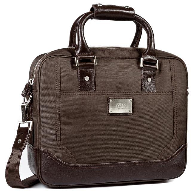 Taška na Laptop GUESS - Never Without HM1678 NYL34 BRO - Športové ... ed687a1ab2