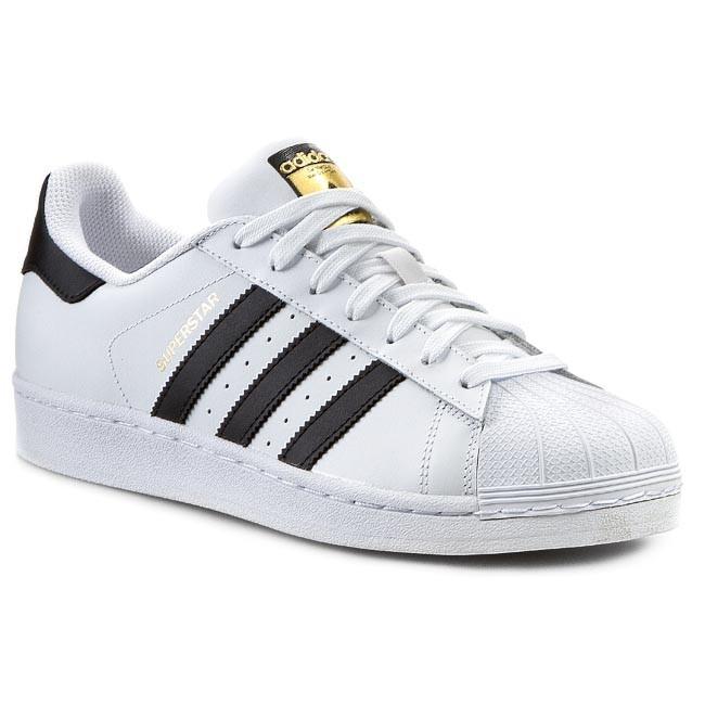 7f26694fca Topánky adidas - Superstar C77124 Ftwwht Cblack Ftwwht - Sneakersy ...