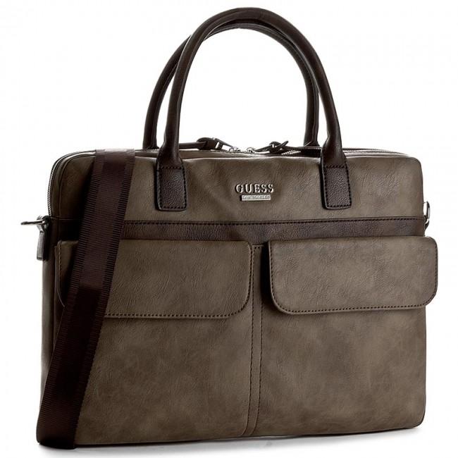 Taška na Laptop GUESS - Boston HM3114 POL72 BRO - Pánske - Tašky pre ... 48eaf38529