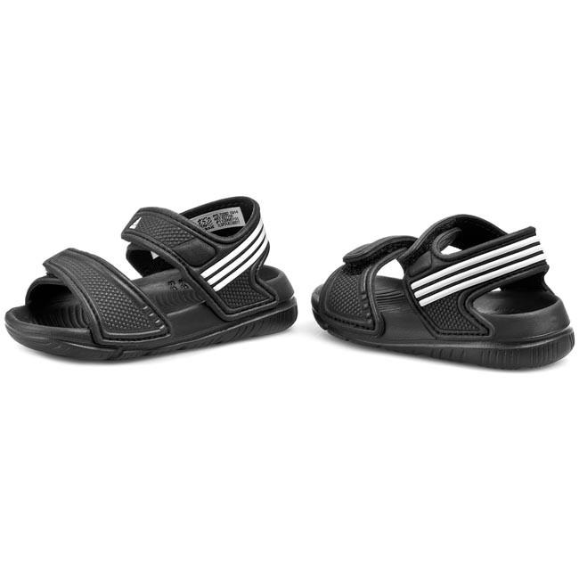 Sandále adidas - Akwah 9 I B27155 CBlack Ftwhite - Sandály - Šľapky ... 51195713ccd