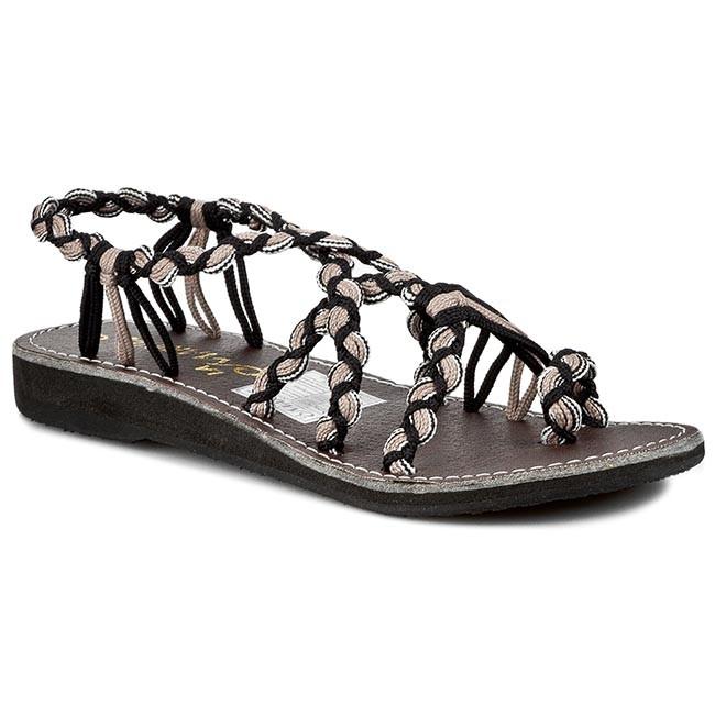 Žabky LA MARINE - Calypso Taupe - Sandále na každodenné nosenie ... 9265edf3a64