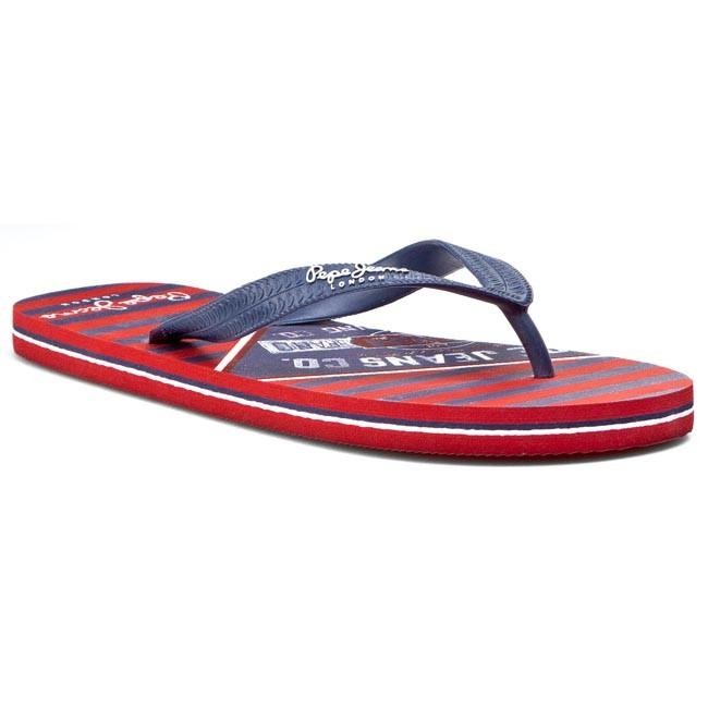 3f70e2bd4ba3 Žabky PEPE JEANS - Swimming Stamp PMS70013 585 - Žabky - Šľapky a ...