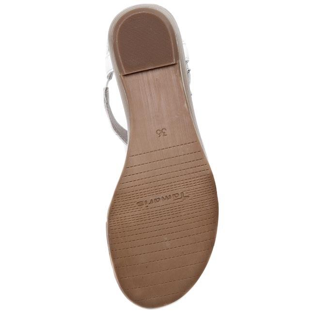 Sandále TAMARIS 1 28105 24 WhiteSilver 191