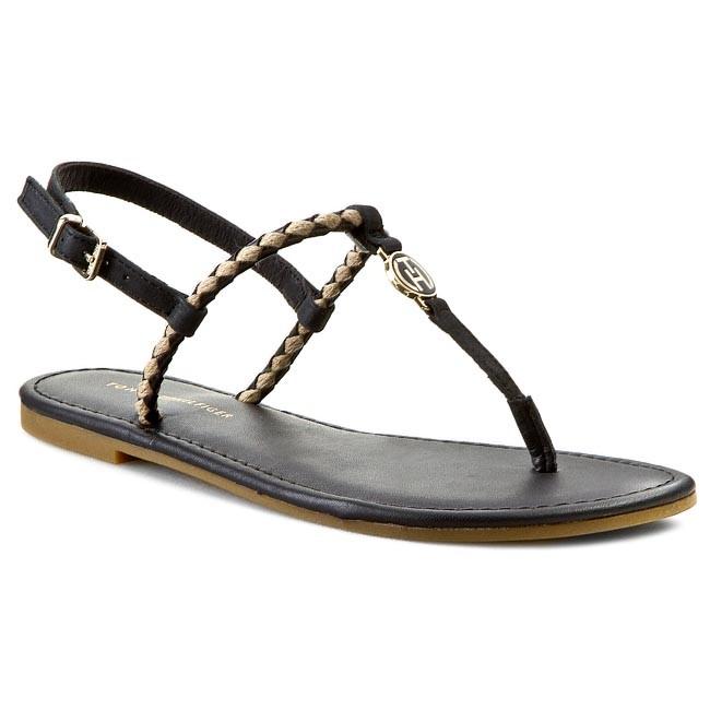 90b6bb16e00 Žabky TOMMY HILFIGER - Jennifer 7C FW56818664 Black 990 - Sandále na ...