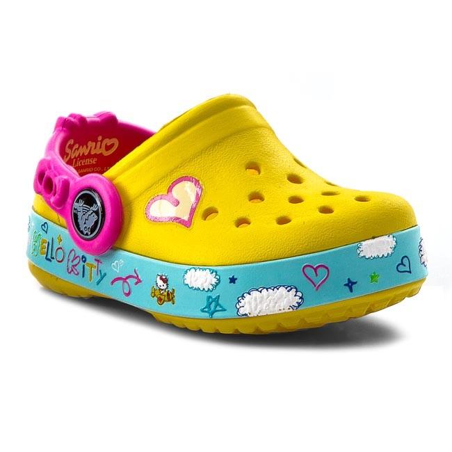 Šľapky CROCS - Cb Hello Kitty Plane Clog 16089 Sunshine - Šľapky ... 5b65b4d0f91