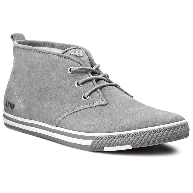 e673fd8883 Outdoorová obuv ARMANI JEANS - A6546 51 H2 Grey - Topánky - Čižmy a ...