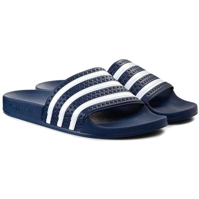 Šľapky adidas - adilette 288022 Adiblu Wht Adiblu - Šľapky každodenné -  Šľapky - Šľapky a sandále - Dámske - www.eobuv.sk 5fae0e5fc0f
