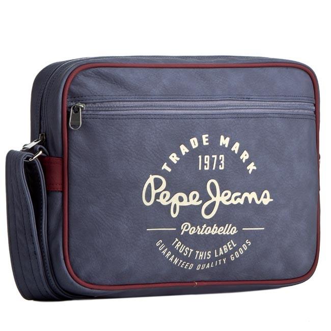 e7bea1c63273 Taška na Laptop PEPE JEANS - Monsul Bag PM030376 Blue 551 - Športové ...