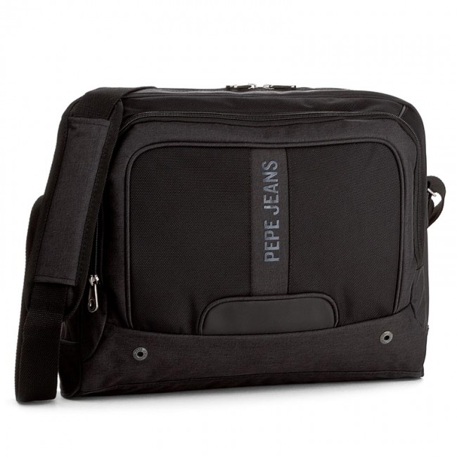 3db4cbe6a2e5 Taška na Laptop PEPE JEANS - Greenwich Laptop Satchel PM120011 Black ...