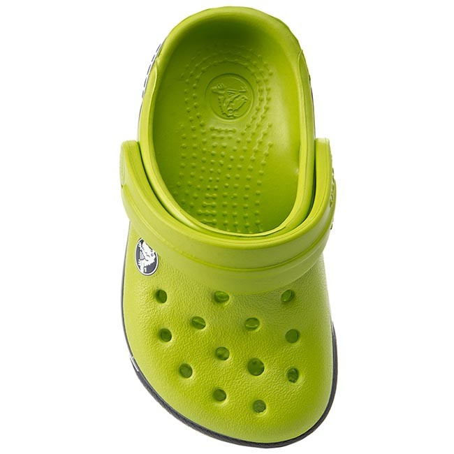 Šľapky CROCS - Crocband II.5 Clog Kids 12837 Volt Green Charcoal - Šľapky -  Šľapky a sandále - Chlapec - Detské - www.eobuv.sk 7353b2197e5