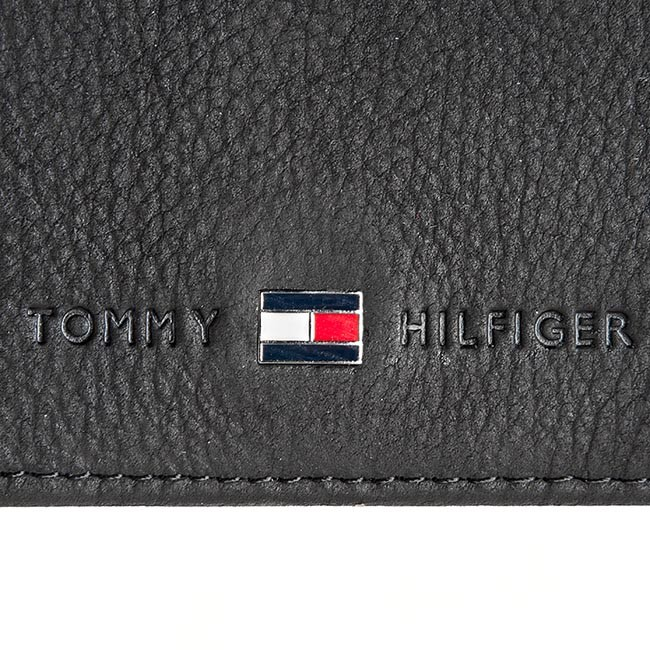 Veľká Peňaženka Pánska TOMMY HILFIGER - Johnson Cc Flap And Coin Pocket  AM0AM00660 82566 Black 9680be83a88
