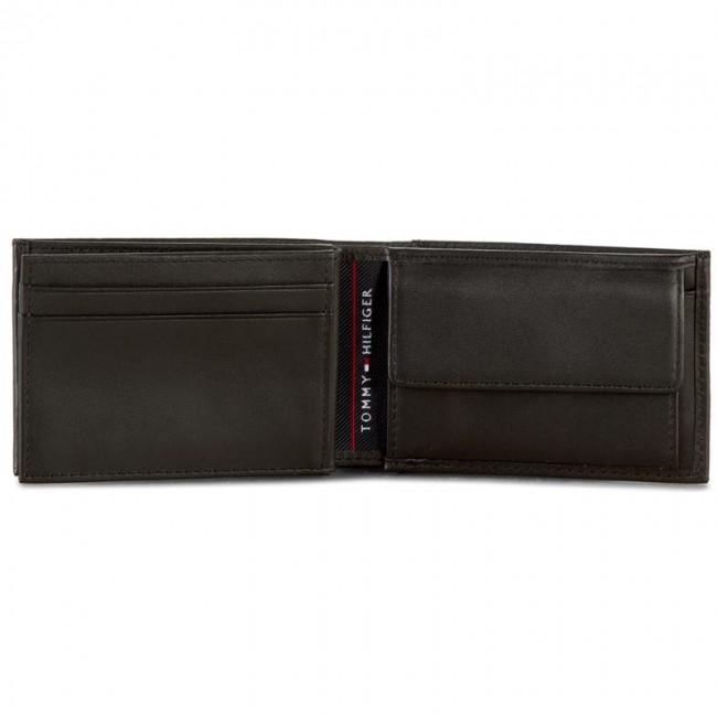 Malá Pánska Peňaženka TOMMY HILFIGER - Harry Mini Cc Flap And Coin Pocket  AM0AM01257 Black 002 c7ef34fb503