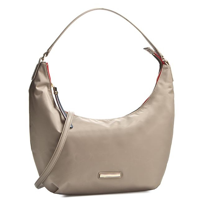 Kabelka TOMMY HILFIGER - Poppy Small hobo Crossover AW0AW02031 Dune ... a15bc65acad